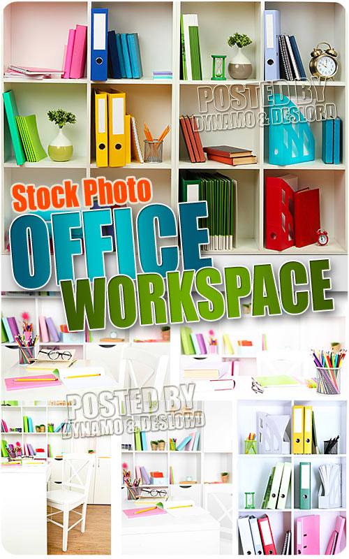 Office workspace - UHQ Stock Photo