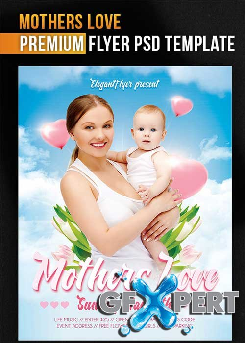 Mothers Day V4 PSD Flyer Template