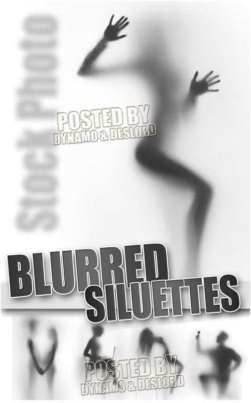 Blurred silhouettes - UHQ Stock Photo