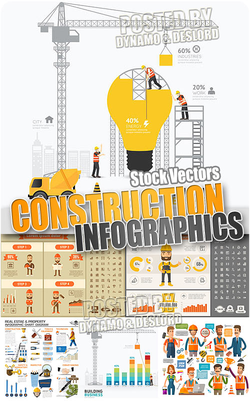 Construction Infographics - Stock Vectors