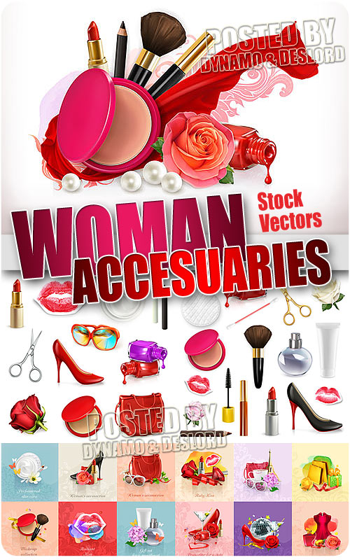 Woman accesuareies - Stock Vectors