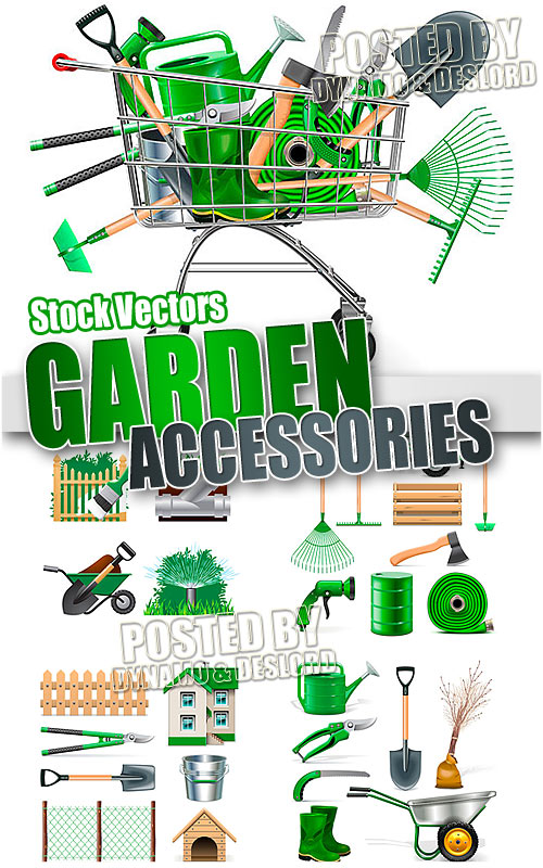 Garden Accessories - Stock Vectors