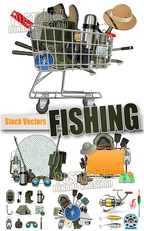 Fishing - Stock Vectors