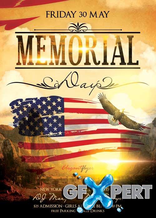 memorial flyer