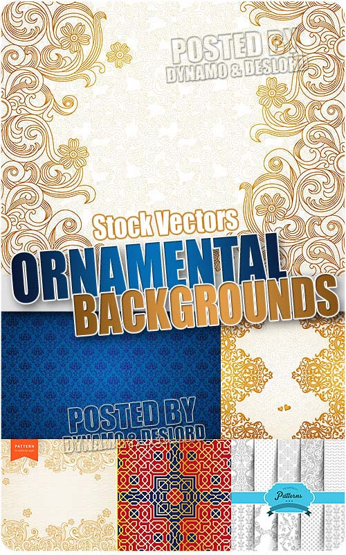 Ornamental backgrounds - Stock Vectors