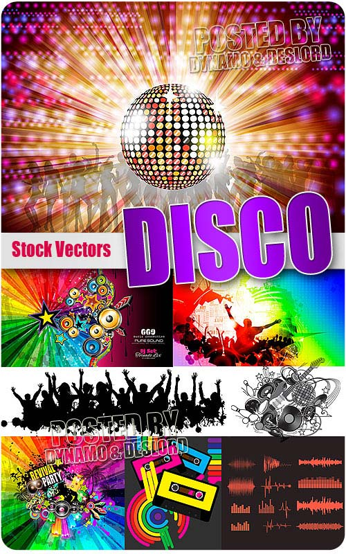 Disco - Stock Vectors