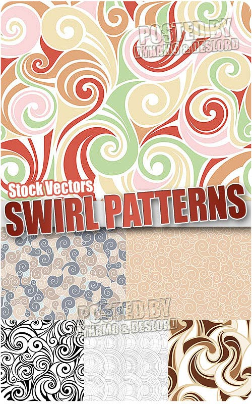 Swirl patterns - Stock Vectors