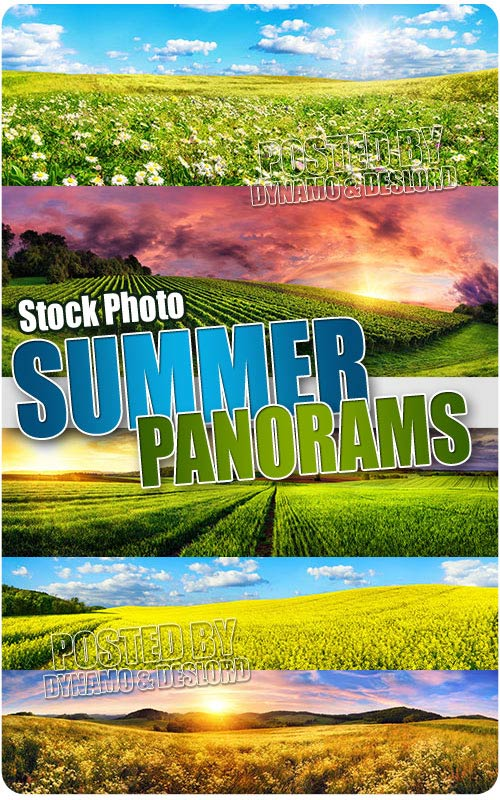 Summer Panorams - UHQ Stock Photo