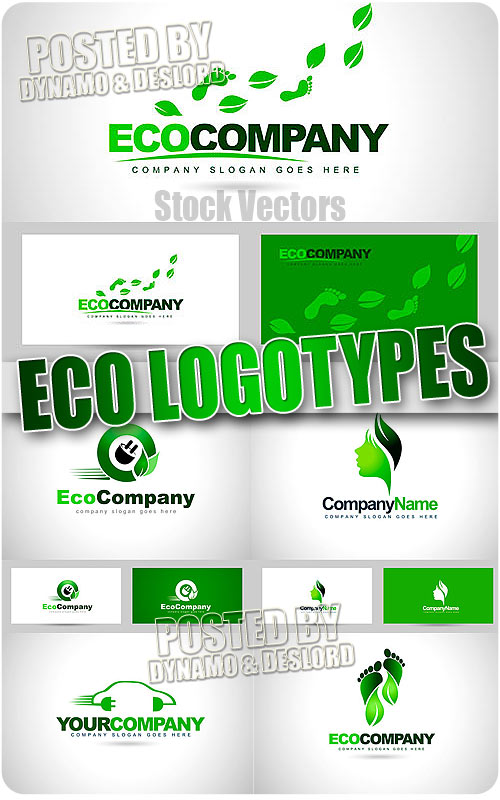 Eco logo - Stock Vectors