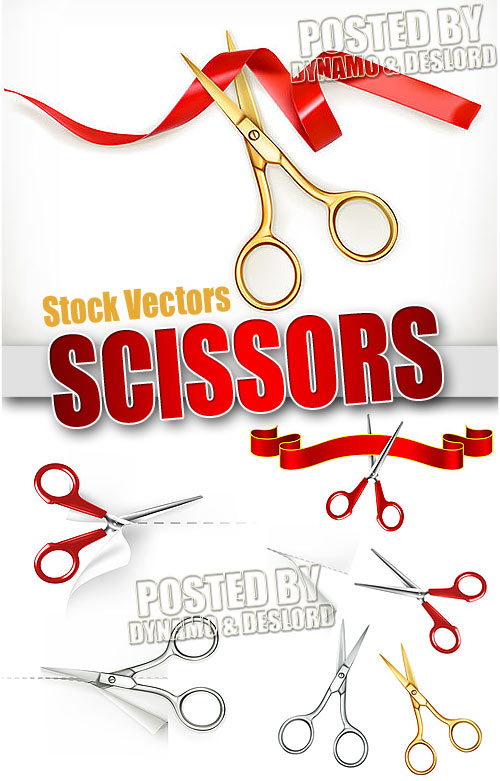 Scissors 2 - Stock Vectors