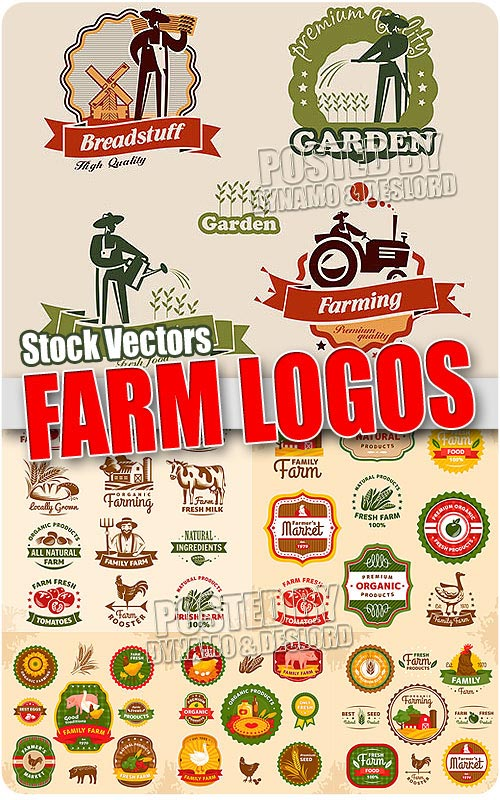 Farm logo - Stock Vectors