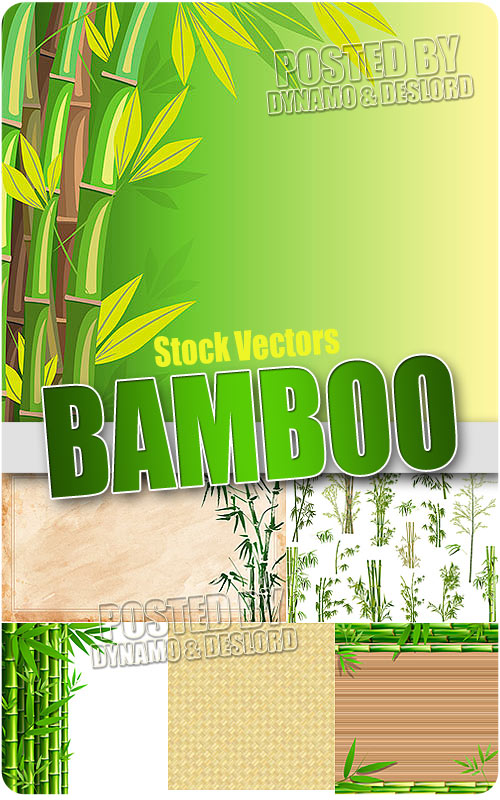 Bamboo 2 - Stock Vectors