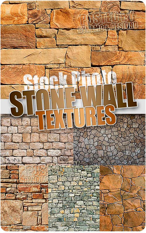 Stone Wall Textures - UHQ Stock Photo