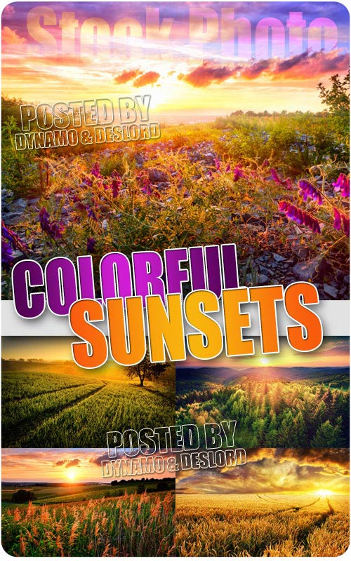 Colourful sunsets - UHQ Stock Photo