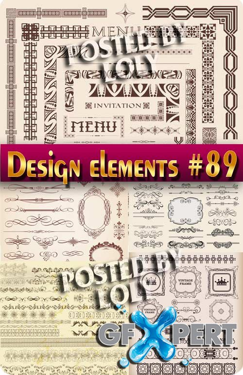 Design element #89 - Stock Vector