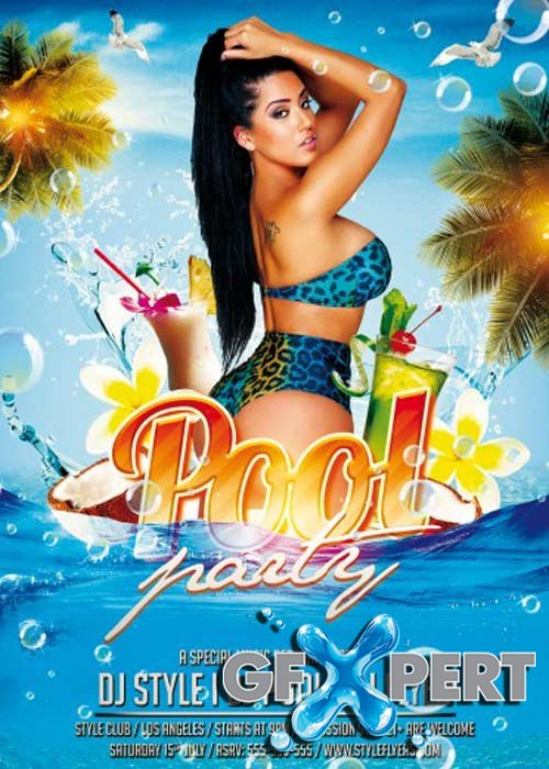 pool party flyers free - Mersn.proforum.co