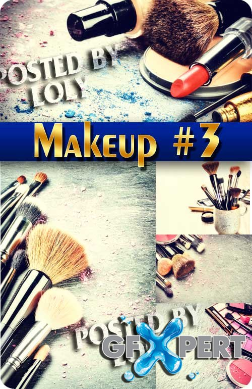 Makeup #3 - Stock Photo
