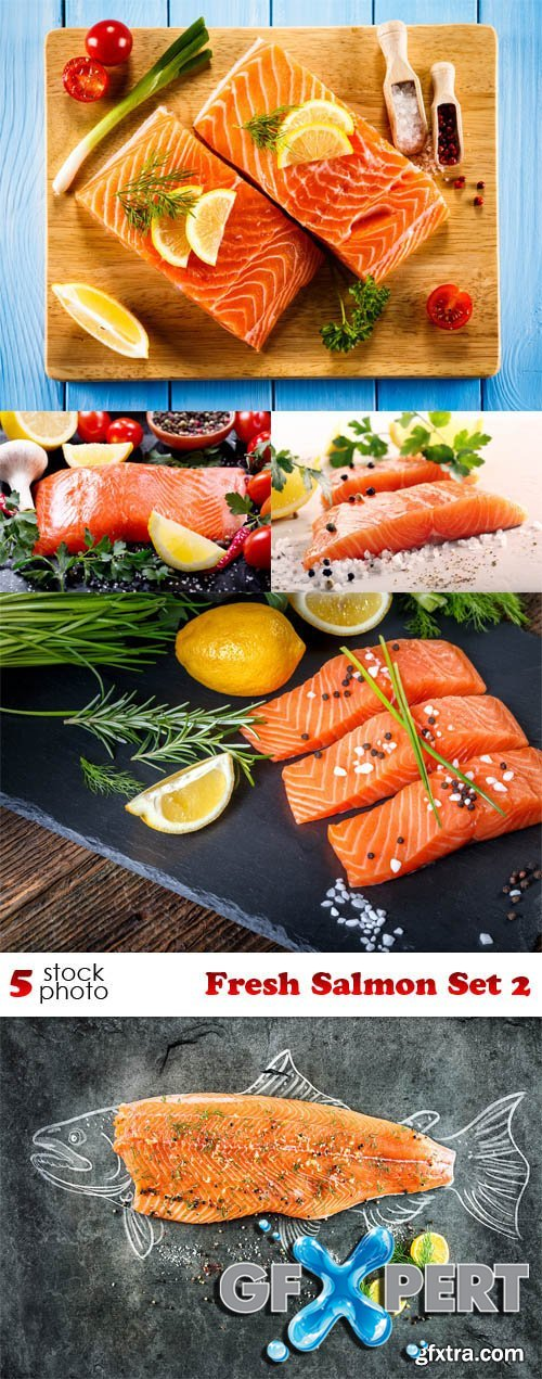Photos - Fresh Salmon Set 2