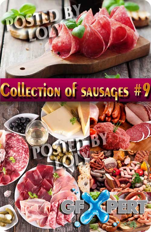 Food. Mega Collection. Sausages #9 - Stock Photo