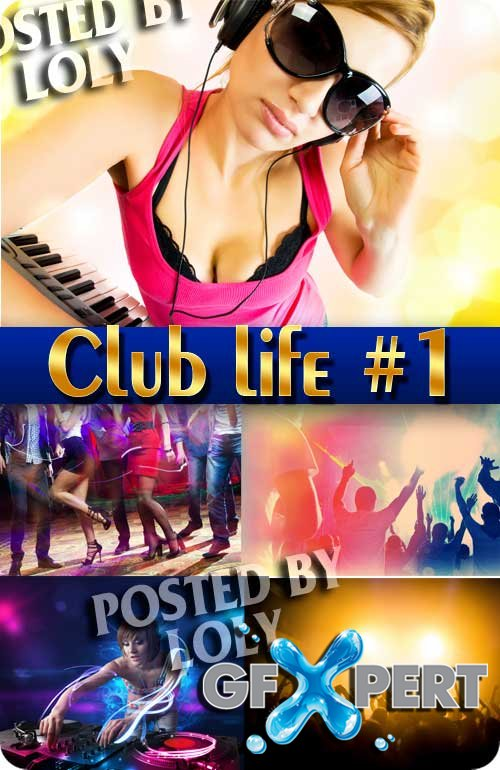 Club life #1 - Stock Photo