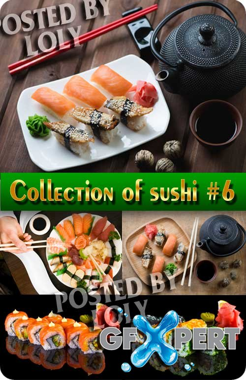Collection of sushi #6 - Stock Photo