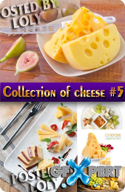 Collection of cheese #5 - Stock Photo