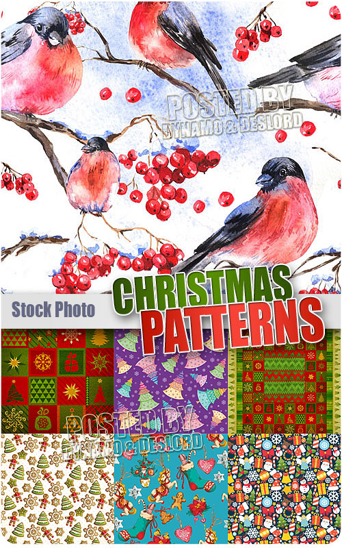 Christmas seamless pattern 2 - UHQ Stock Illustrations