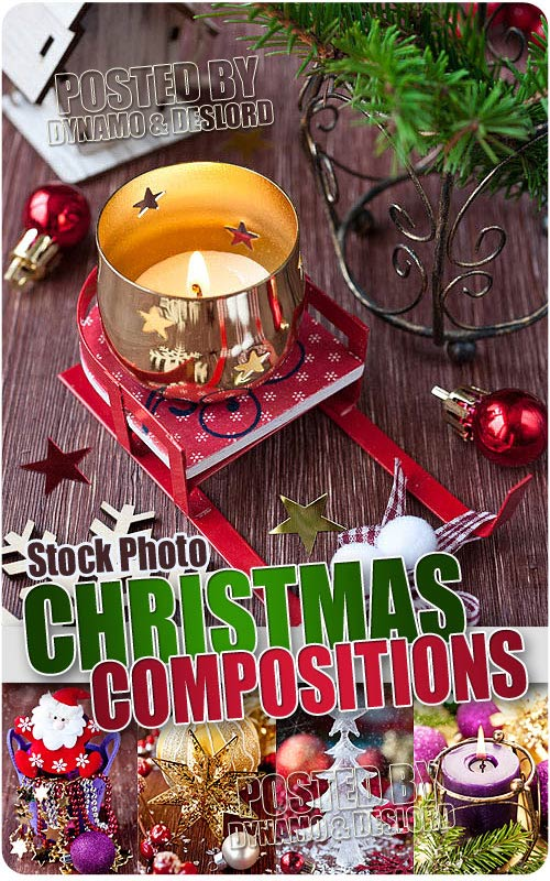 Chrismas compositions 4 - UHQ Stock Photo