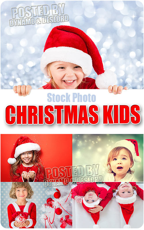 Xmas kids - UHQ Stock Photo