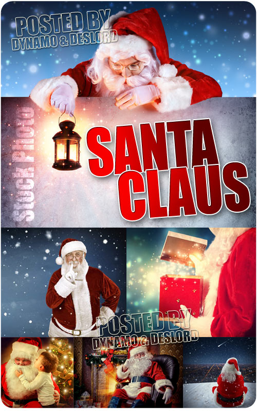 Santa Clous comes - UHQ Stock Photo