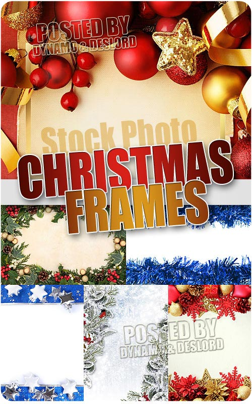 Xmas Frames - UHQ Stock Photo