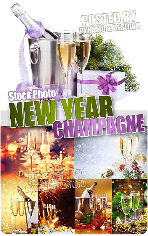 New Year Champagne 2 - UHQ Stock Photo