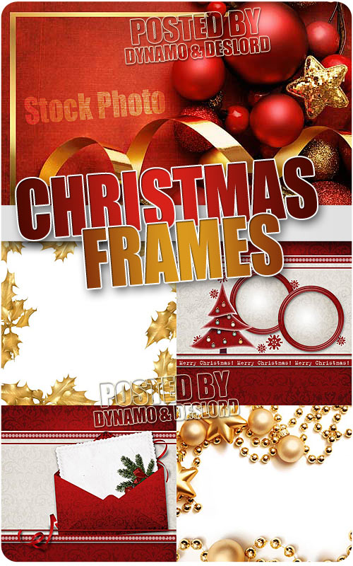 Xmas Frames 2 - UHQ Stock Photo