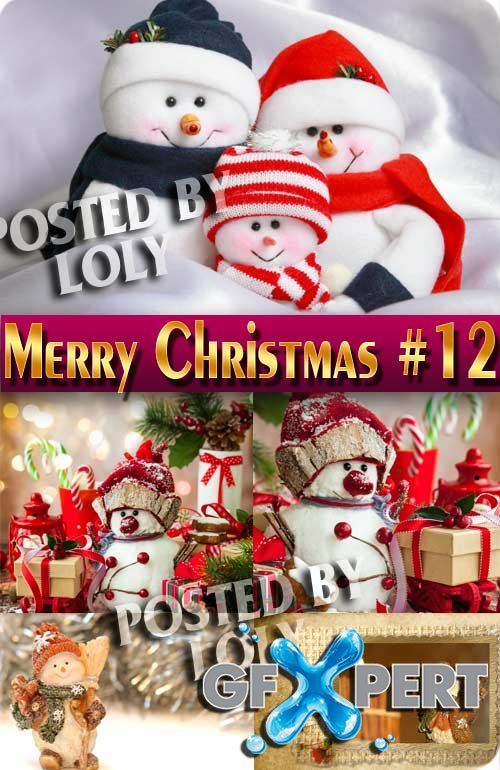 Merry Christmas 2017 #12 - Stock Photo