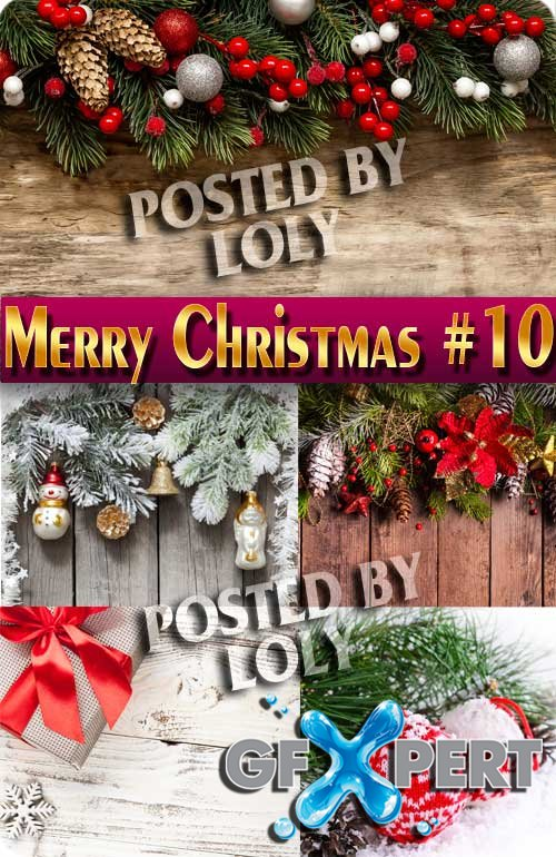 Merry Christmas 2017 #10 - Stock Photo