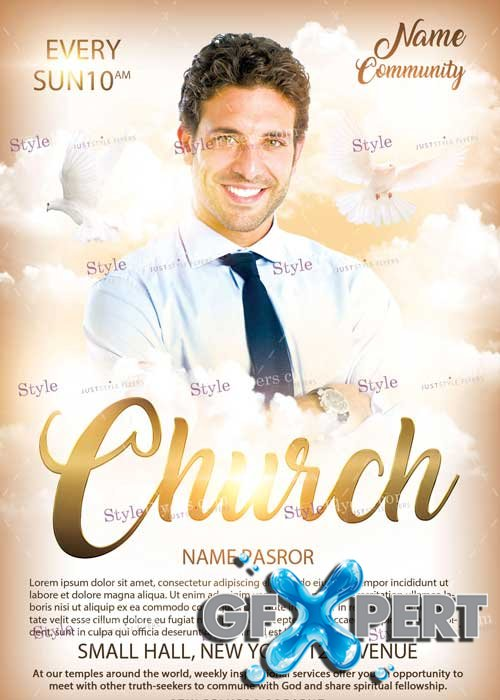Church V4 PSD Flyer Template