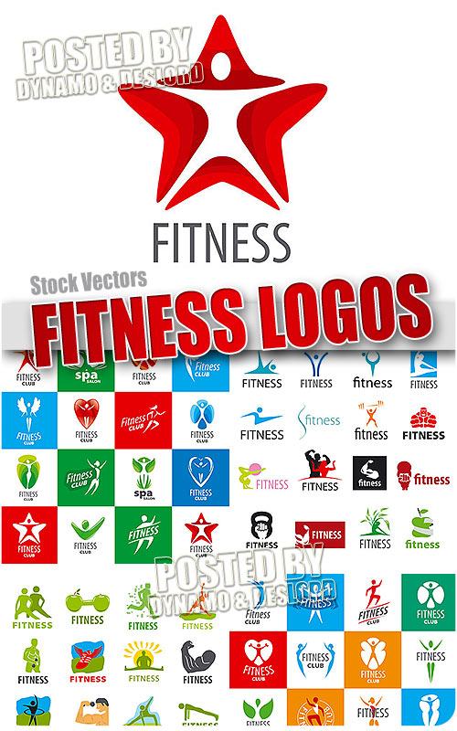 Fitness logo - Stock Vectors