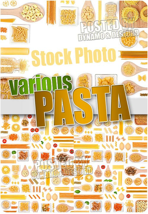Various pasta - UHQ Stock Photo