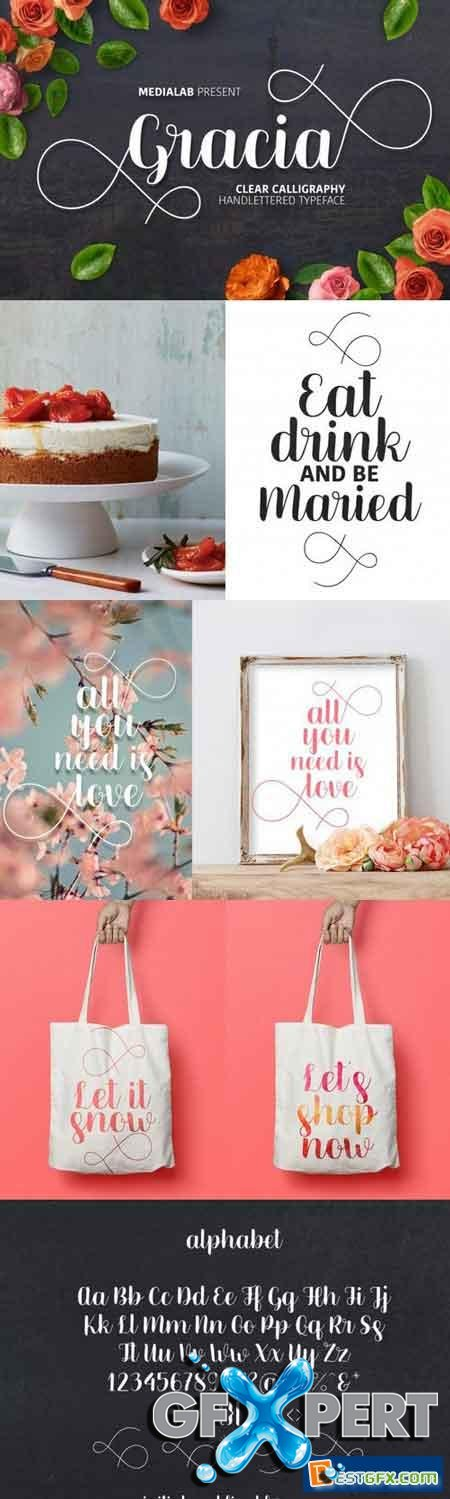 Creativemarket Beautiful ms. Gracia 1067782