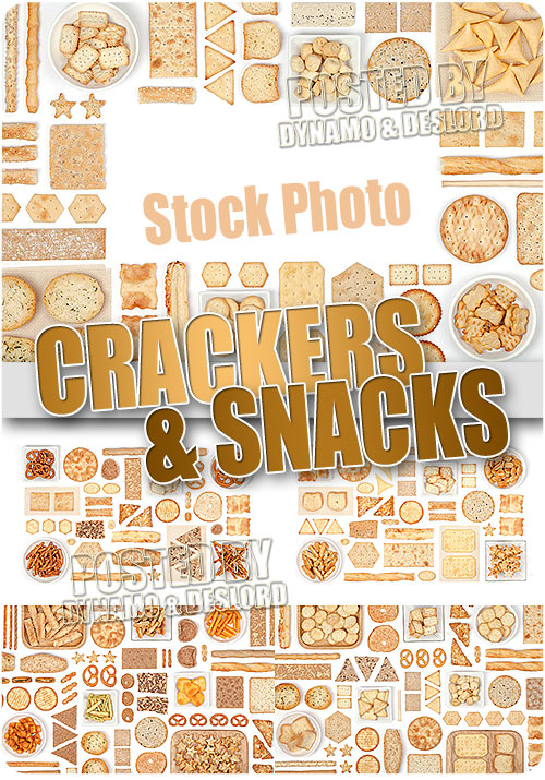 Crackers and snacks - UHQ Stock Photo