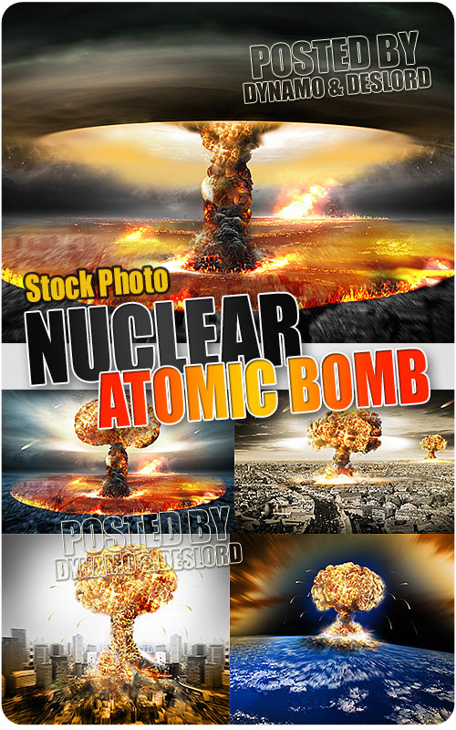Nuclear Atomic War - UHQ Stock Photo