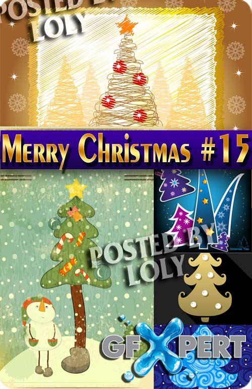 Merry Christmas 2017 #15 - Stock Vector