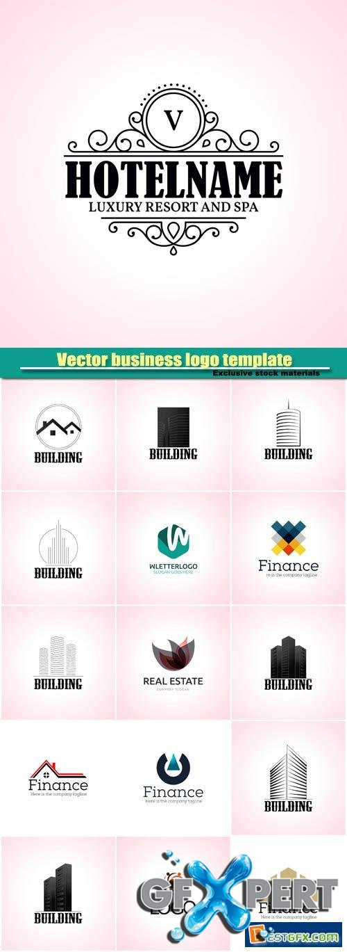 Vector business logo template