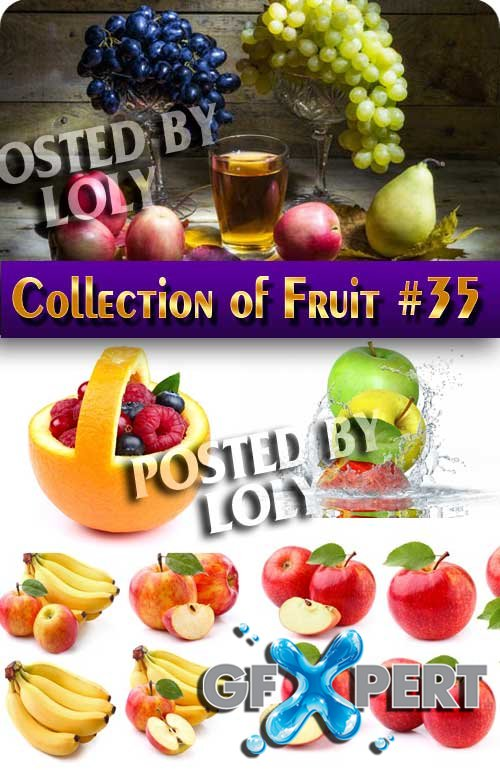 Collection of Fruit #35 - Stock Photo