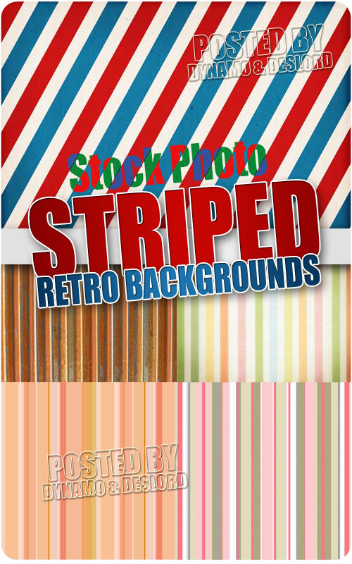 Striped retro patterns - UHQ Stock Photo