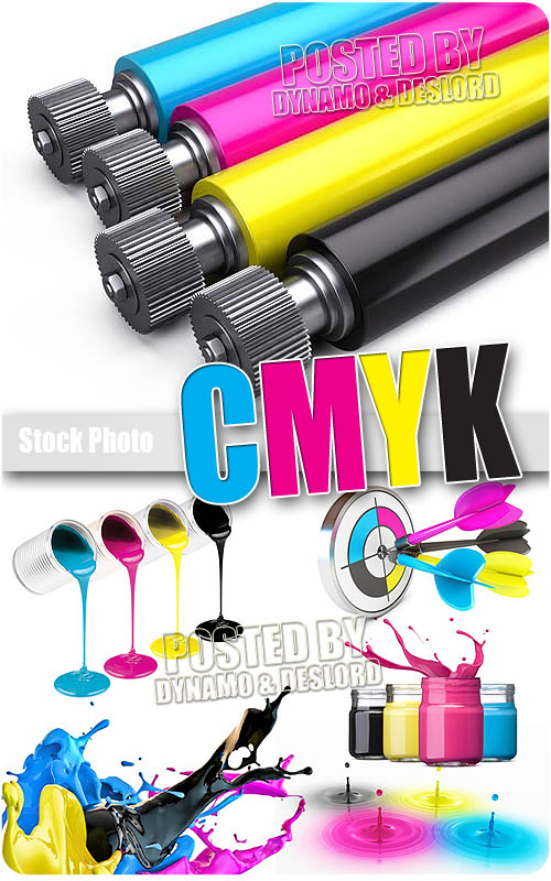 CMYK designs - UHQ Stock Photo