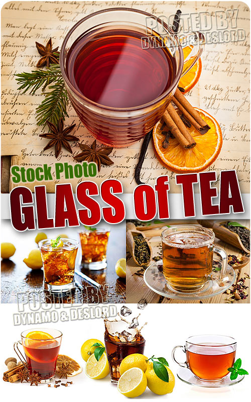 Glass of tea - UHQ Stock Photo