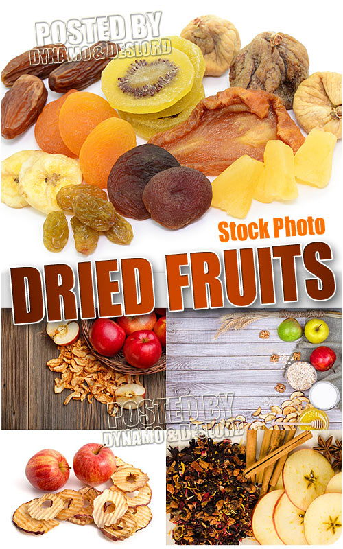 Dried fruits - UHQ Stock Photo