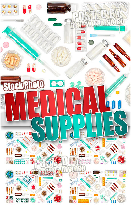 Medical supplies - UHQ Stock Photo