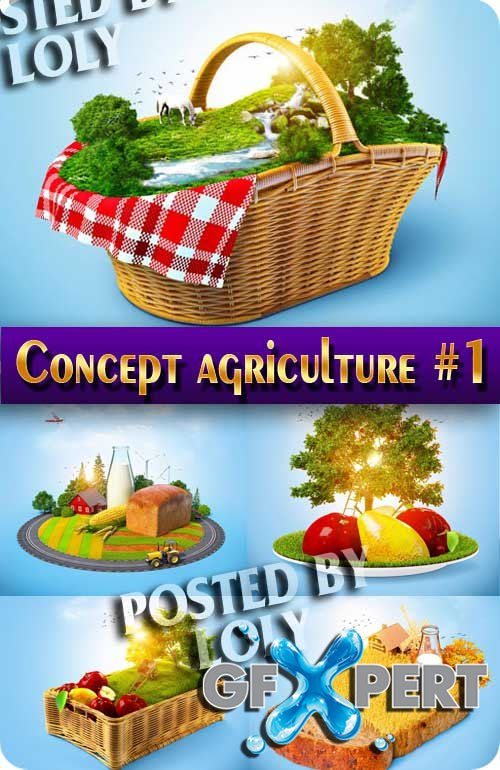 Concept. Agriculture #1 - Stock Photo